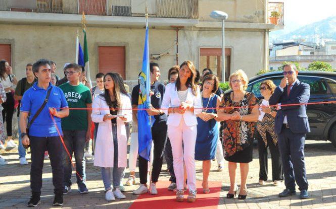 Il Dirigente Scolastico del Righi avv. Musarella Maria Daniela inaugura l'anno scolastico